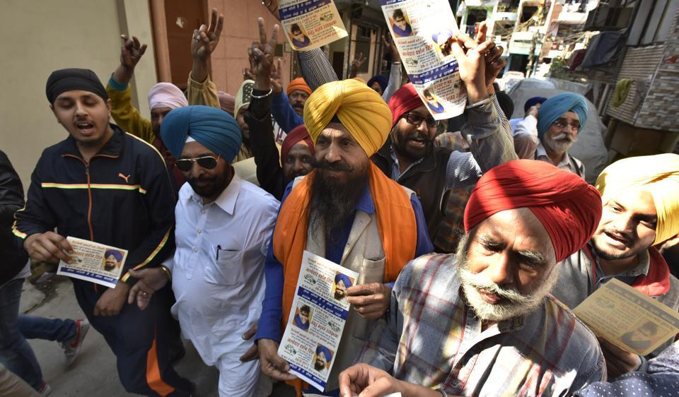 Delhi SGPC poll underway, AAP backed party in fray