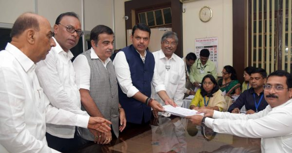 Devendra Fadnavis files nomination from Nagpur South West