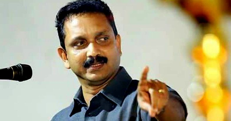 Kerala BJP leader K Surendran acknowledges party