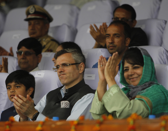 You & BJP Have Choosen A Man For UP CM Who Called For Raping Dead Bodies Of Muslim Woman:Omar Abdullah To Mehbooba Mufti