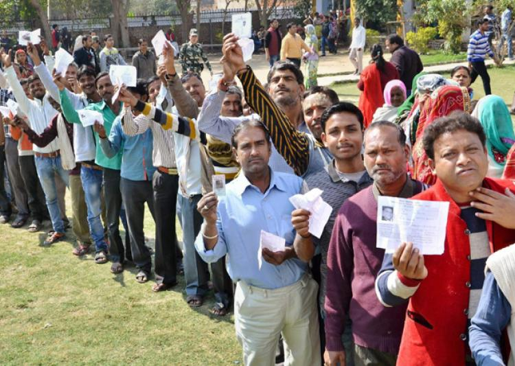 UP polls second phase: Over 25 pc voting till noon