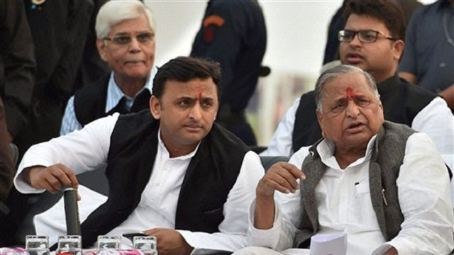 Akhilesh seeks support for party candidates