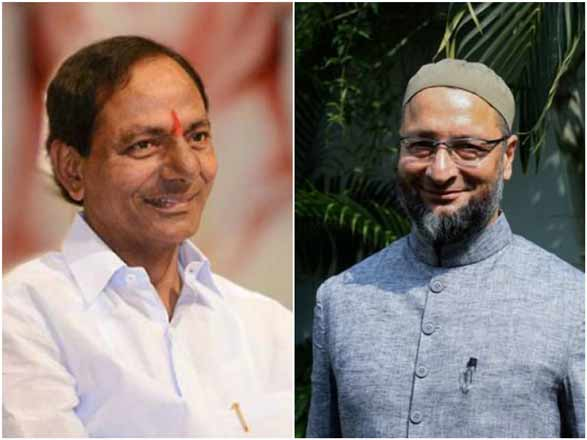 Comfortable lead for TRS, AIMIM in GHMC elections