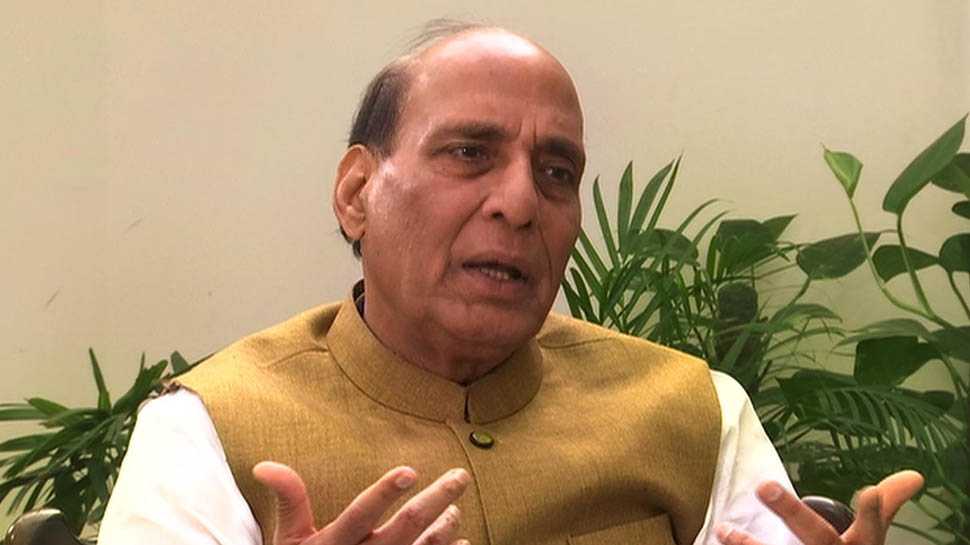 Rajnath Singh to file his nomination today