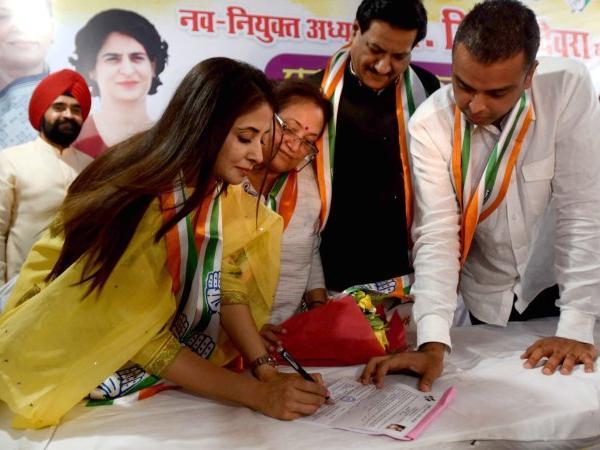 Urmila Matondkar is Congress candidate for Mumbai North seat
