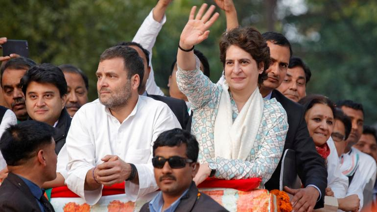 Rahul Gandhi, Priyanka to campaign in UP today