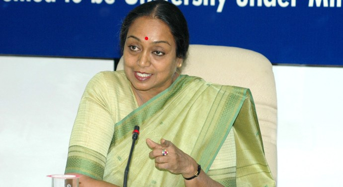 Former Lok Sabha Speaker Meira Kumar files nomination from Sasaram