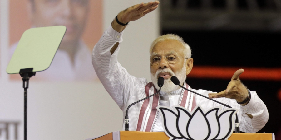 PM Modi to address an election meeting at Paliganj in Patna today