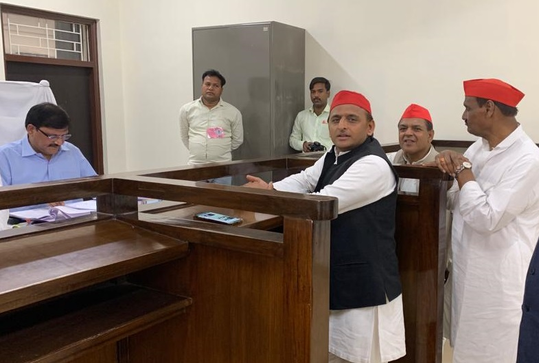 Akhilesh Yadav files nomination from Azamgarh
