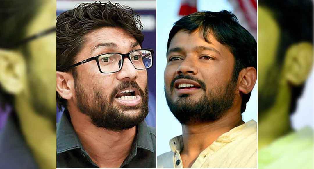 Jignesh Mevani campaigns for Kanhaiya Kumar in Bihar