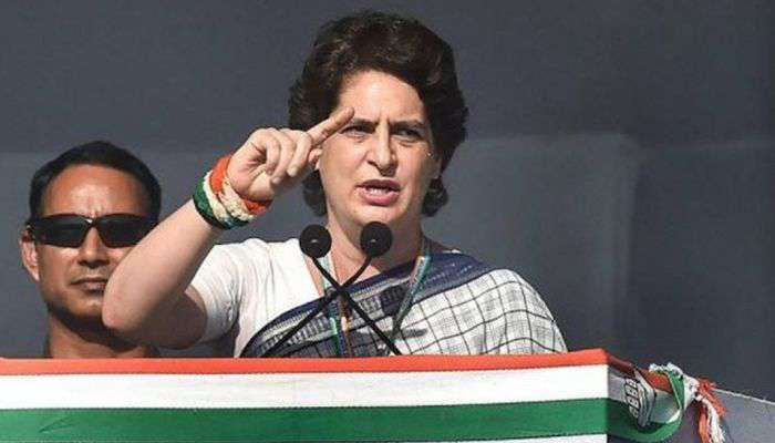 Priyanka Gandhi Vadra attacks BJP over plight of