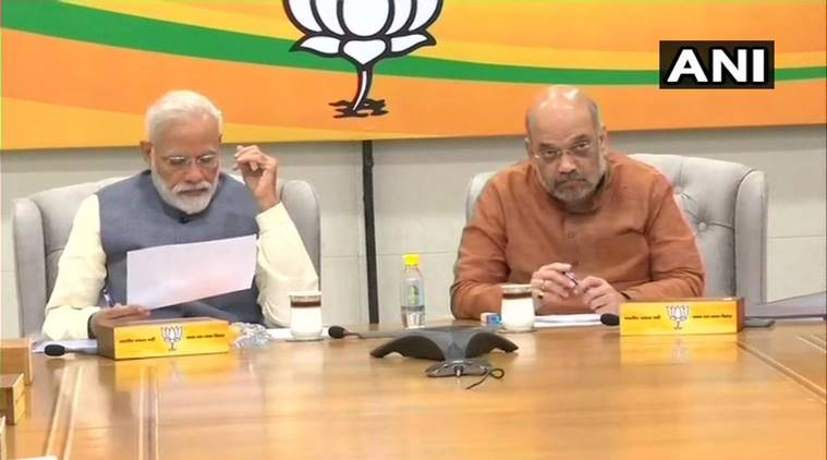 BJP announces three more candidates in final list