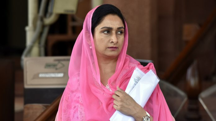 Shiromani Akali Dal names Harsimrat Kaur Badal as its candidate from Bathinda
