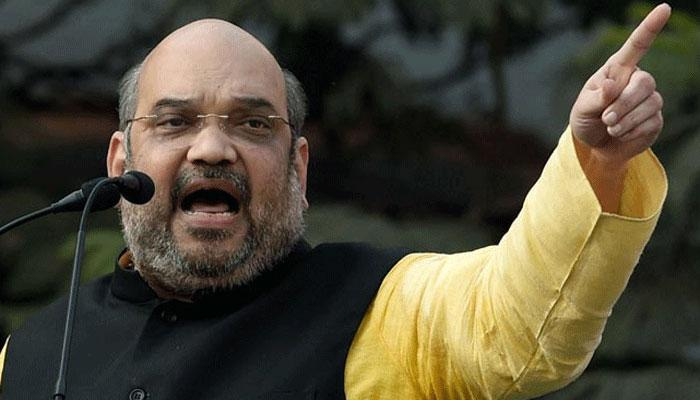 Amit Shah mentions BSP as main rival not SP