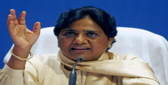BSP superemo lashes out at BJP govt