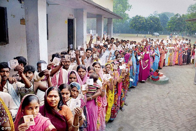 Voting started  in phase 1 of assembly elections in Uttar Pradesh