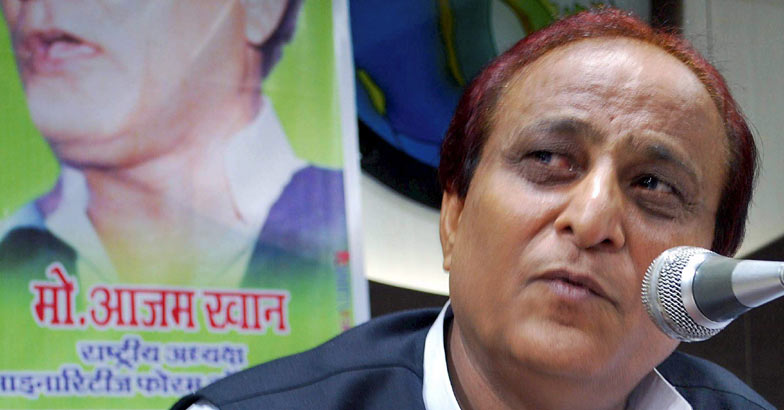 Azam Khan creates stir, compares Modi with Ravana