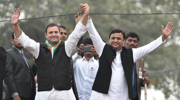 Akhilesh, Rahul claims alliance will wipe of BJP from UP