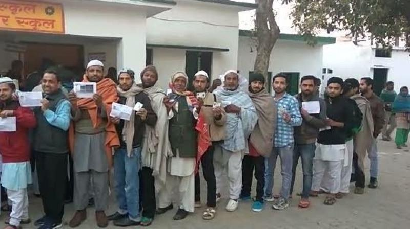 UP polls: 30% turnout till noon