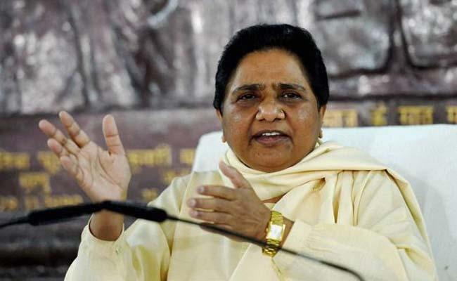 Modi govt conspiring to end reservation system:  Mayawati