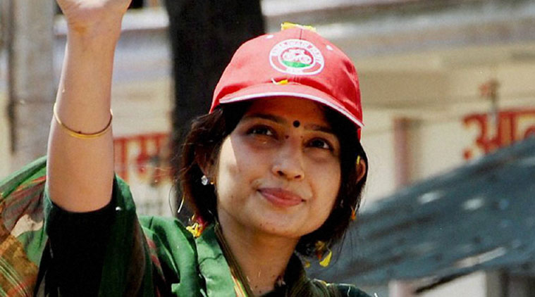 Dimple Yadav appeals to support Samajwadi Party