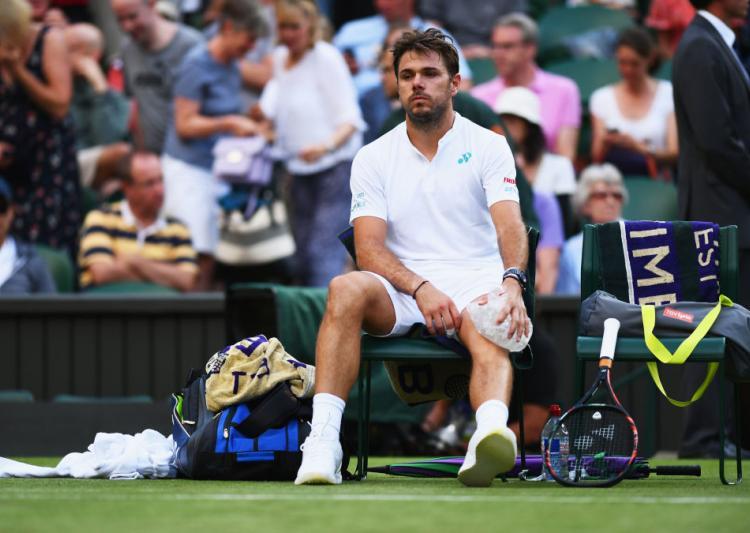 3-time major champ Wawrinka out at Wimbledon