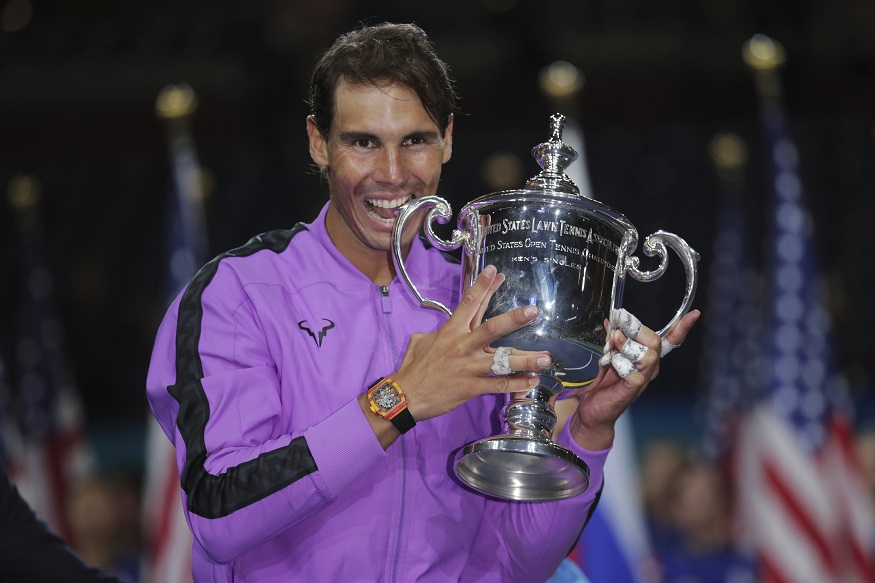 Rafael Nadal clinches US Open Tennis Men
