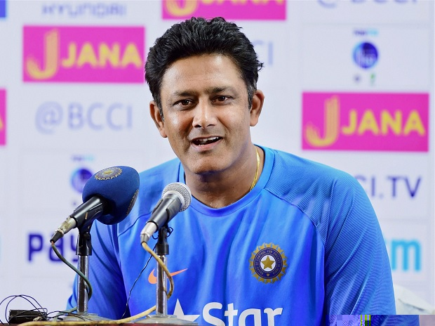 Kumble will remain coach for WI tour, says CoA head Vinod Rai