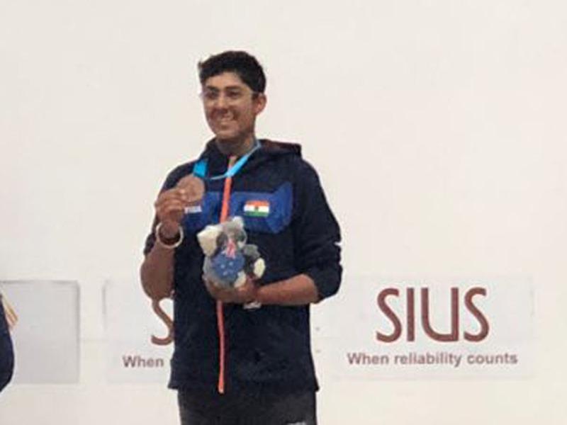 ISSF Junior World Cup: Vivaan Kapoor wins bronze medal