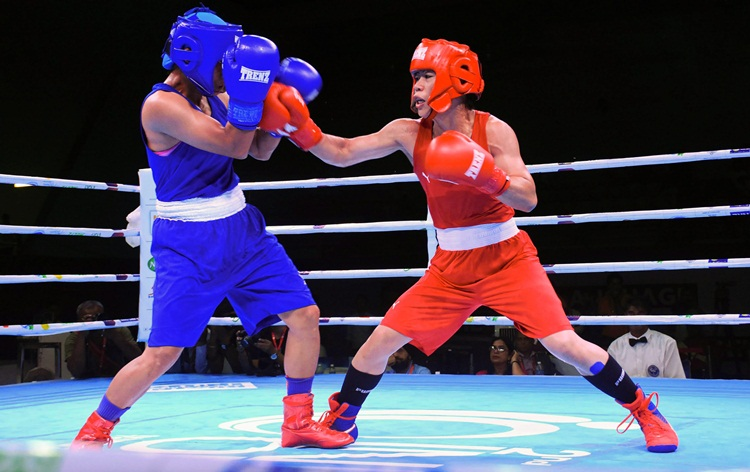 22 Indian women boxers enter semis of 2nd India Open International Boxing tournament