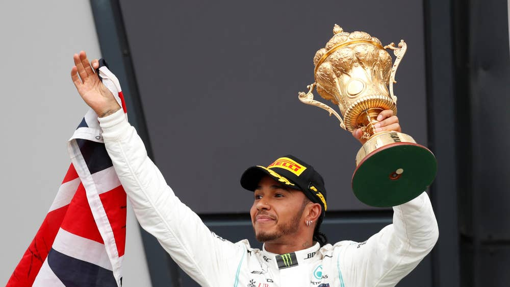 Lewis Hamilton wins sixth British Grand Prix