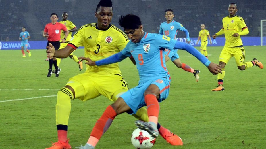 India lose 1-2 against Colombia in FIFA U-17 World Cup
