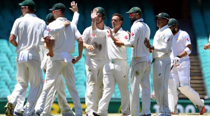 Australia crush Pakistan by 220-run to sweep test series