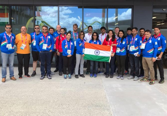 Indian contingent arrives in Gold Coast for CWG 2018