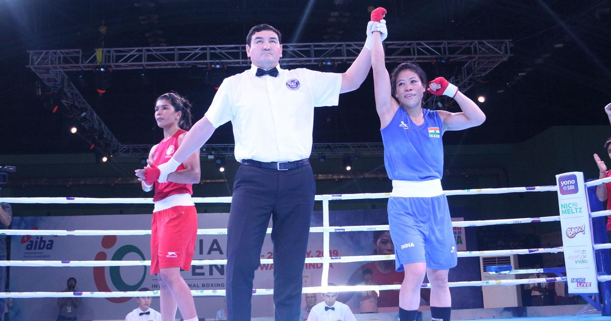 Mary Kom enters women