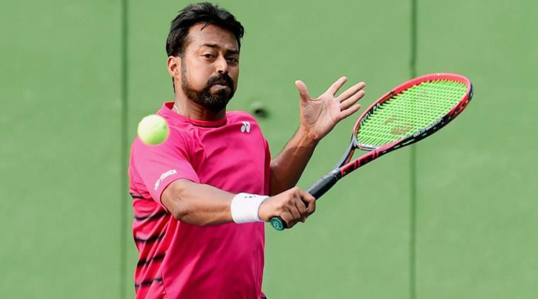 Leander Paes lifts Santo Domingo Open trophy