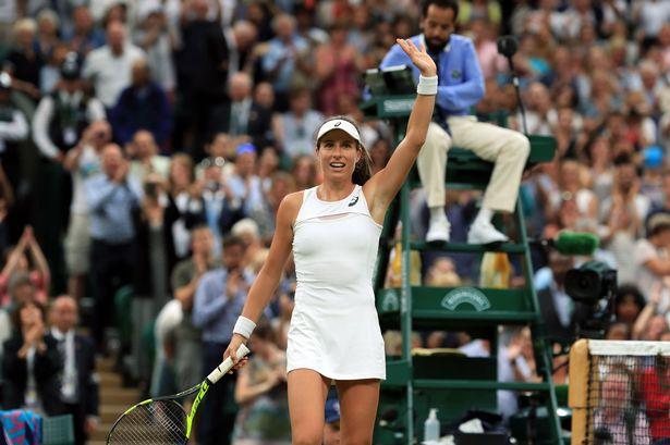 Wimbledon: Johanna Konta beats Simona Halep  to reach semi-finals