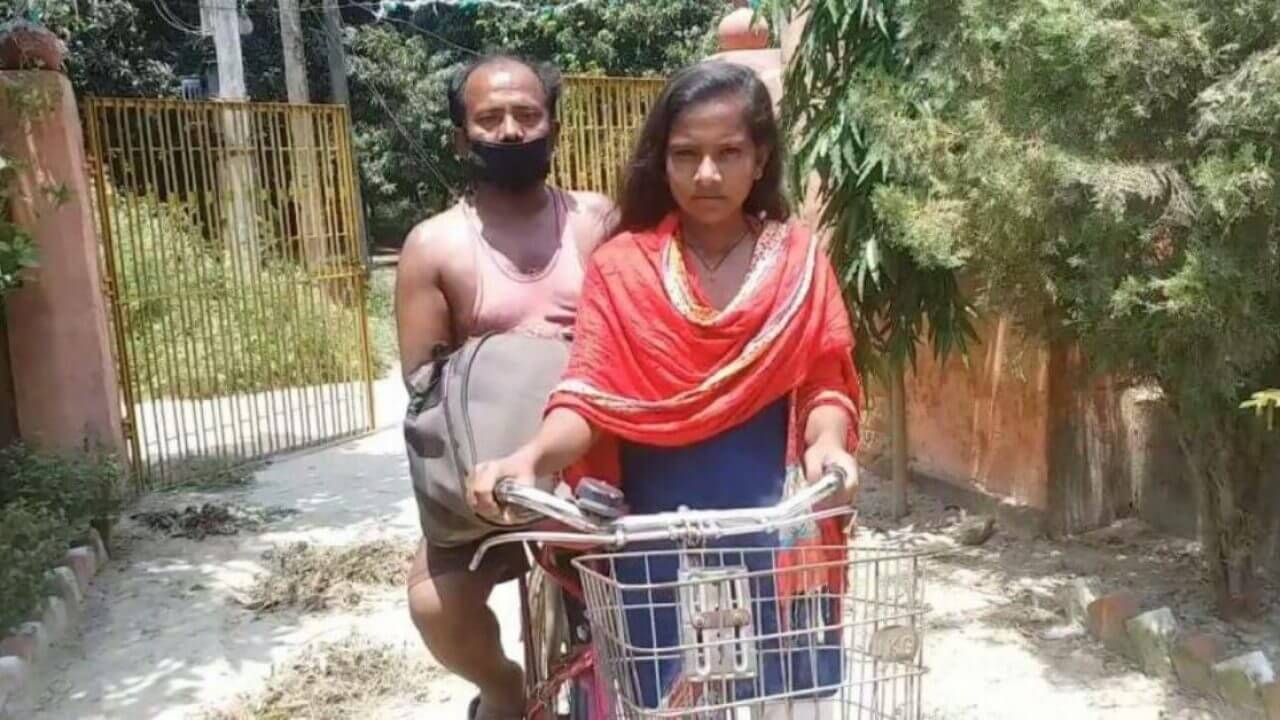 Bihar girl who cycled 1200 km in 7 days carrying father invited for trial by cycling federation