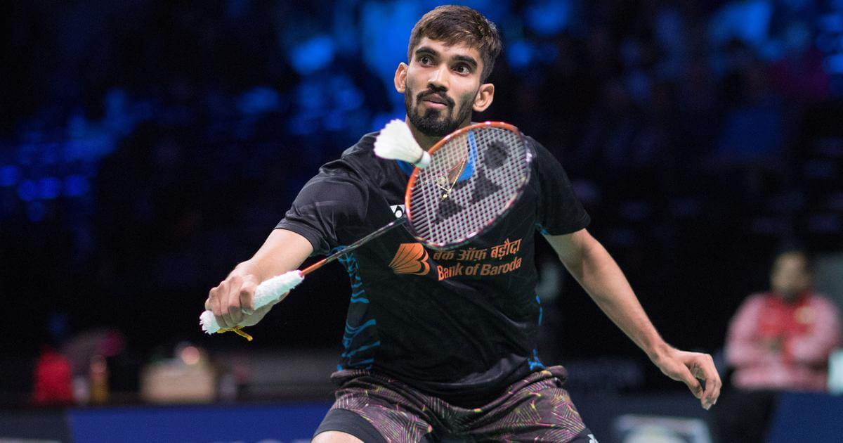Kidambi Srikanth pulls out of Thailand Open due to right calf muscle injury