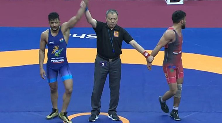 Asian Wrestling Championships: Indian wrestlers win three bronze medals in Greco-Roman events