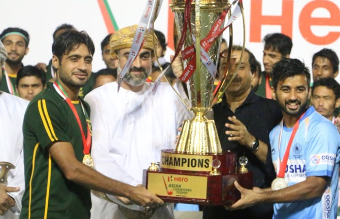India & Pakistan declared joint winners of Asian Champions Trophy