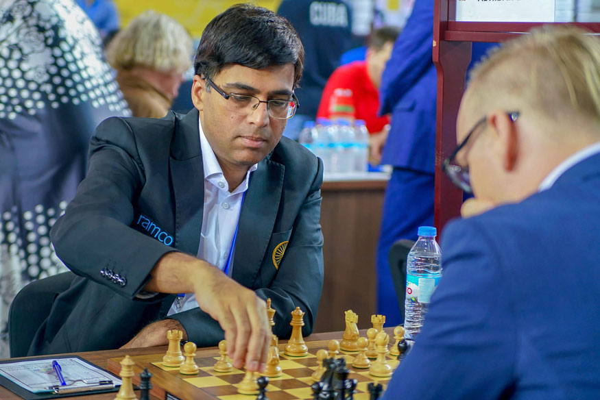 India, Russia play out draw in 6th round of Chess Olympiad in Georgia