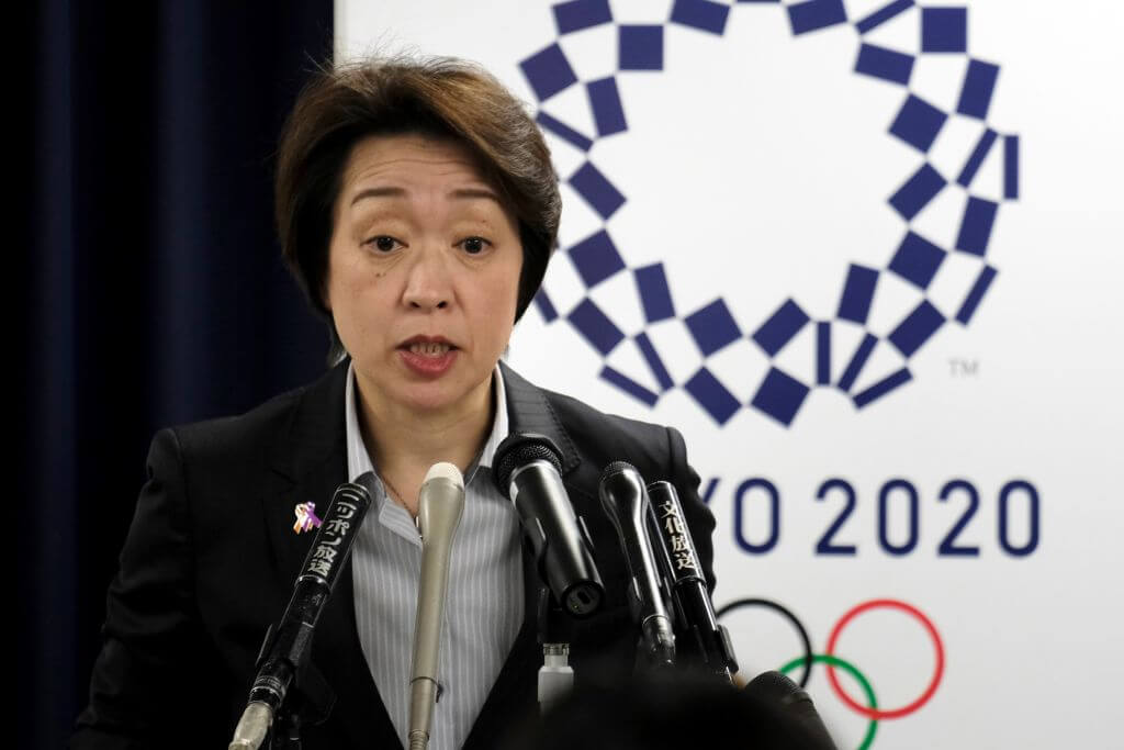 seikohashimotonamedastokyoolympicpresident
