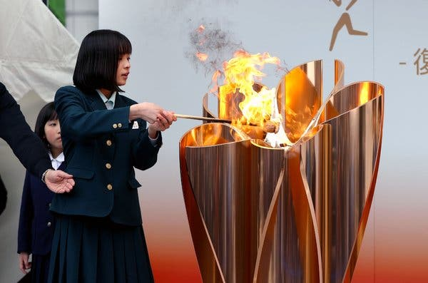 Olympic flame exhibition in Fukushima cancelled amidst COVID-19 crisis