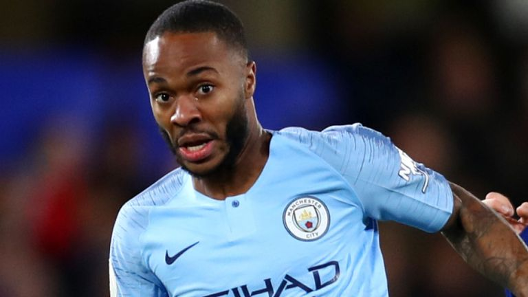 Raheem Sterling named 2019 FWA footballer of the year