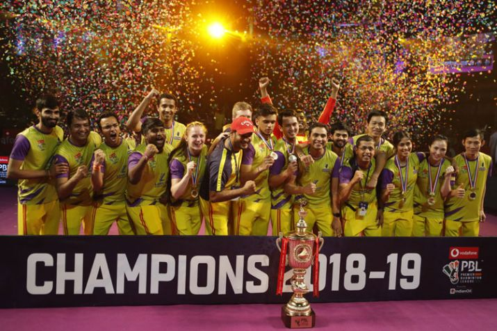 Bengaluru Raptors lift the Premier Badminton League title
