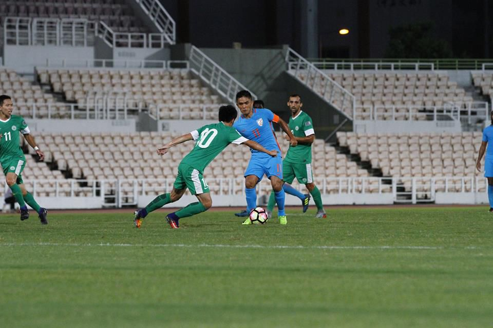 India beat Macau 2-0 in Asian Championship Qualifier