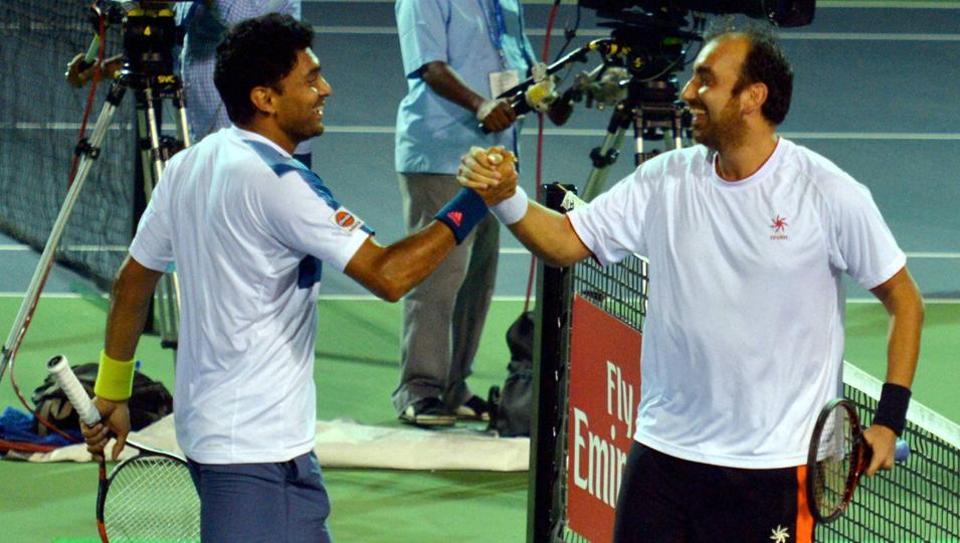 Purav Raja & Divij Sharan enter 2nd round of men