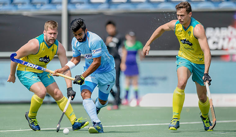 Australia beat India by 3-2 in round robin match of Champions Trophy
