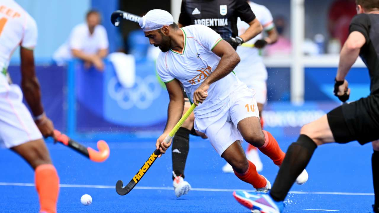 India beat Argentina 3-1 in Men